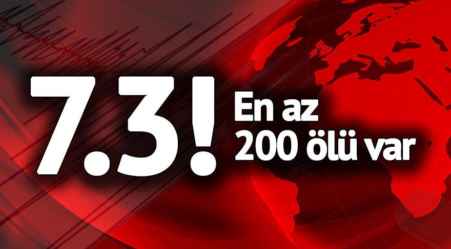 Son dakika haberleri... Irak'taki depremde yüzlerce ölü binlerce yaralı var!