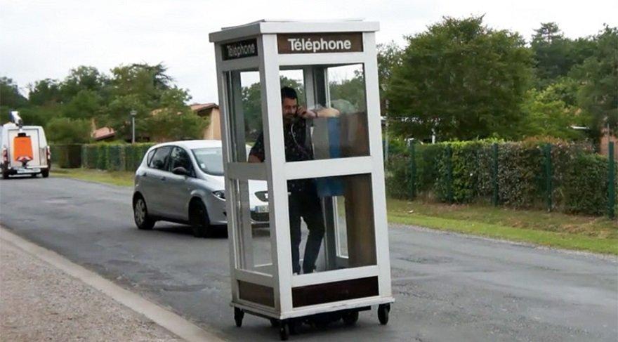 Mobil telefon denilince aklımıza ilk gelen bu şey değil…