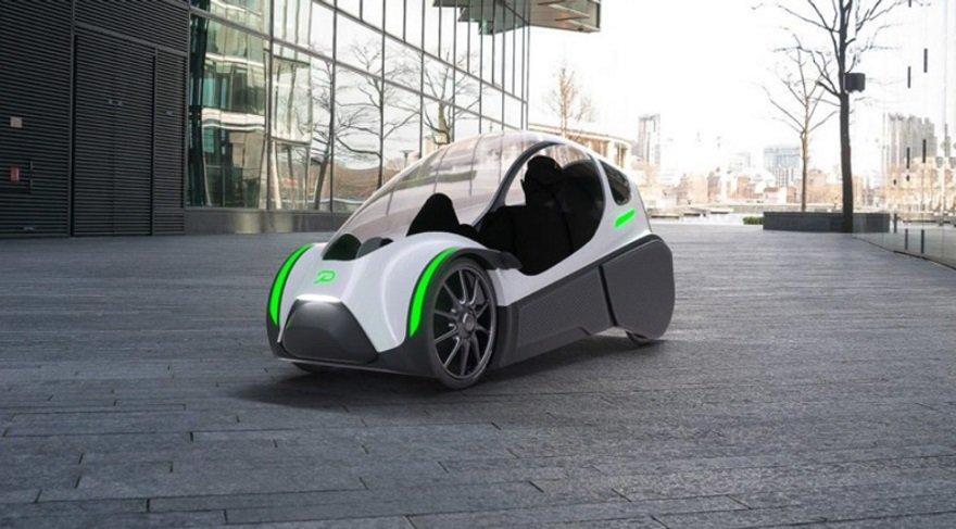 İstanbul'da pedallı ve elektrik motorlu araç Podbike
