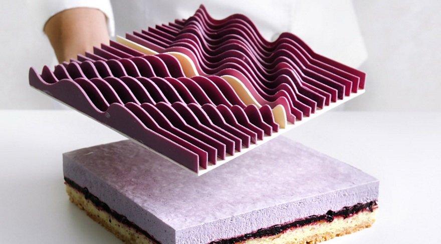 Mühendislik ve matematik ile süslenen pastalar...