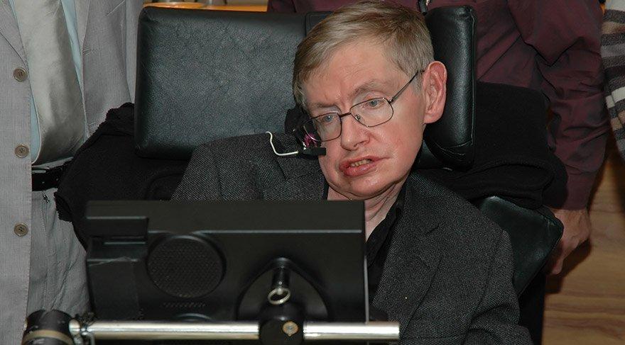 'Stephan Hawking, üstün beyin gücüne sahip bir ALS hastası'