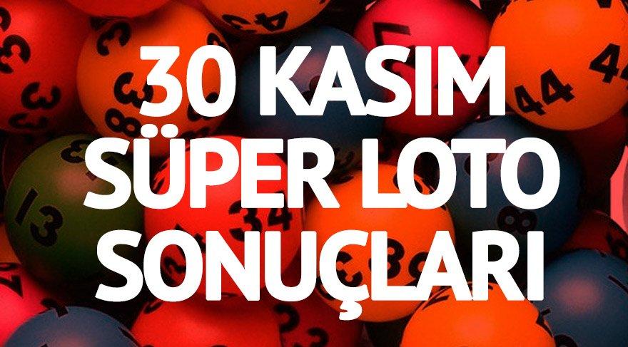 Süper Loto sonuçları: Büyük ikramiye 7 buçuk milyon! 30 Kasım MPİ Süper Loto çekiliş sonucu (Milli Piyango)