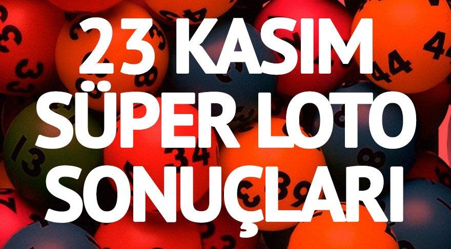 Süper Loto sonuçları: 3. devir gerçekleşti! 23 Kasım MPİ Süper Loto çekiliş sonuçları