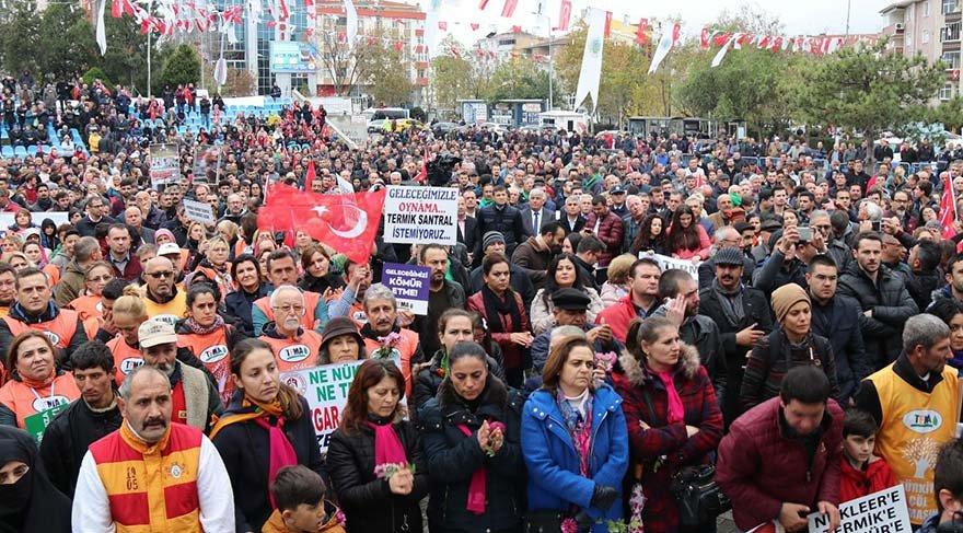 Tekirdağ'da binlerce kişi sokağa döküldü: 'Sessiz ölüme dur de'
