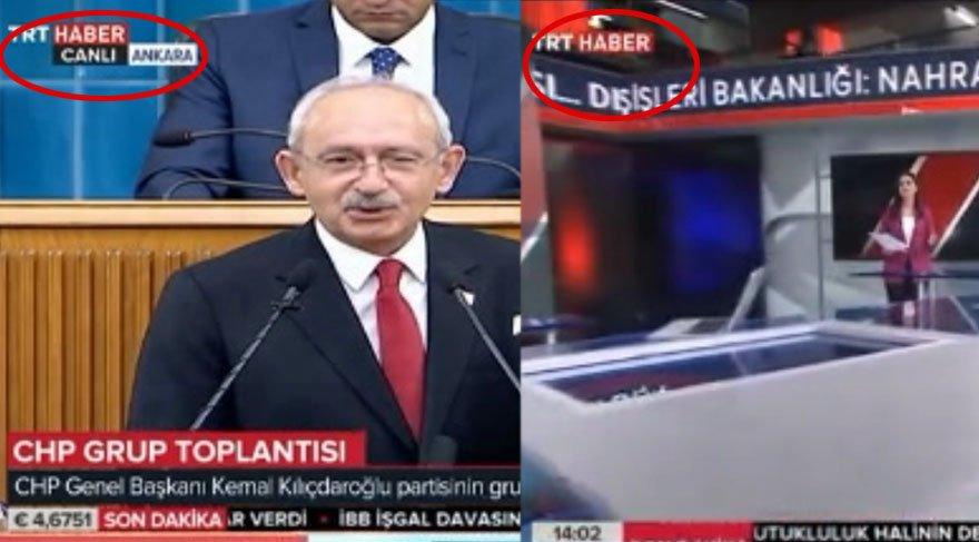 Son dakika haberi... Kılıçdaroğlu belgeleri açıklarken TRT yayını kesti