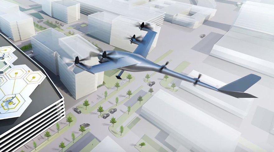 Uber ve Nasa'dan uçan araç işbirliği