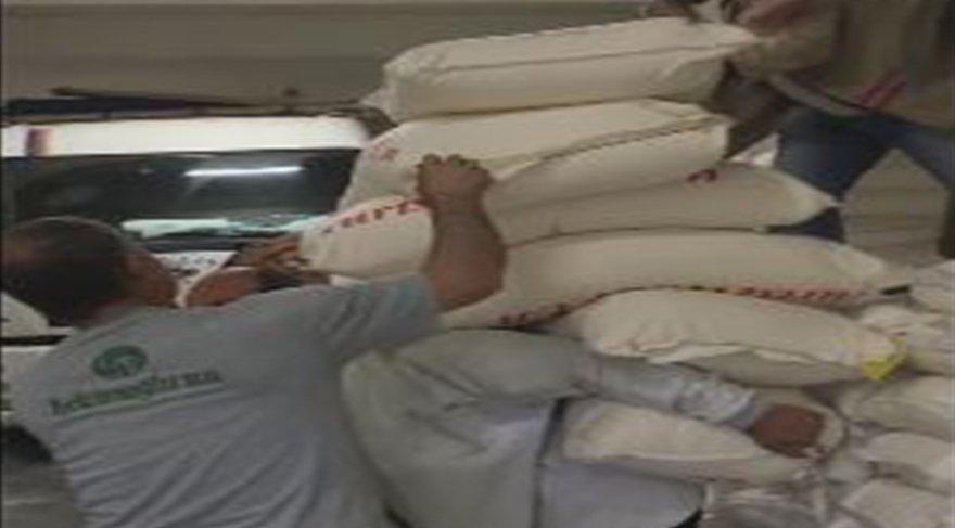 Kırşehir'li emekçi ekmek parası için 350 kiloyu sırtladı!