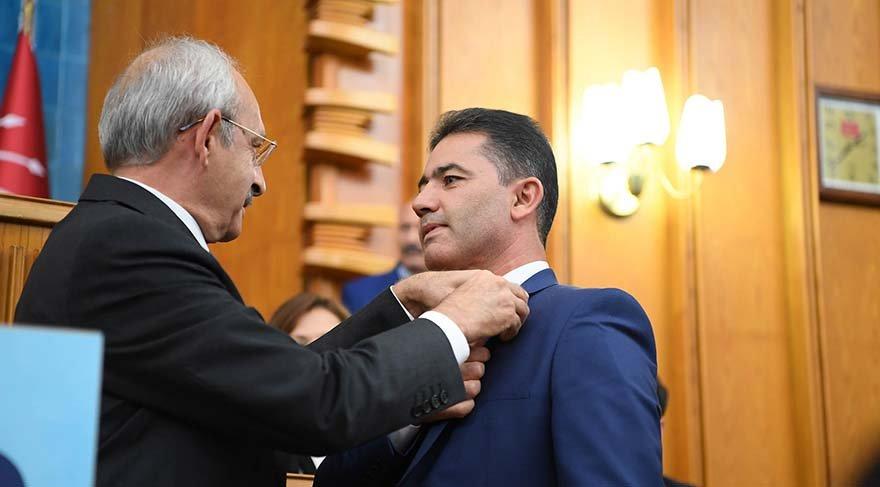Eski Yarbay Mehmet Alkan, CHP'ye üye oldu