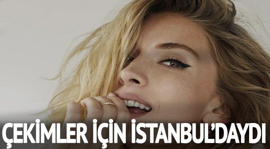 Londra'ya yerleşen Yasemin Allen özel bir çekim için İstanbul'daydı