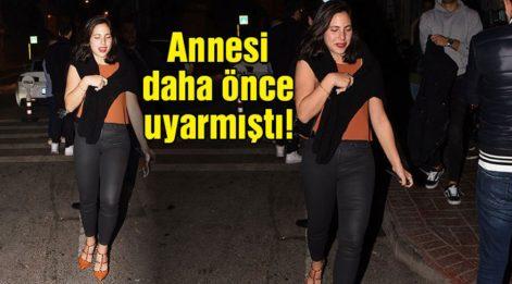 Zehra Çilingiroğlu'nun olaylı gecesi!