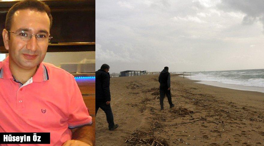 Teknesi alabora olan veteriner hekimin cesedi kıyıya vurdu