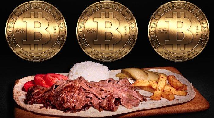 Son haberler... Ünlü dönerci bitcoin ile ödeme alacak