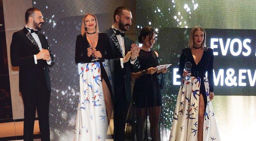 Ivana Sert'e 'Yılın en stil kadını' ödülü verildi