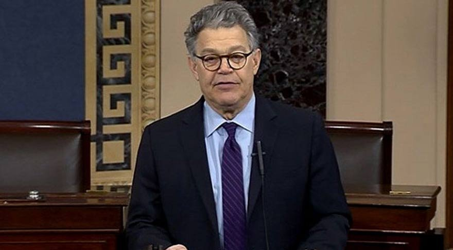 ABD Senatörü Franken istifa etti