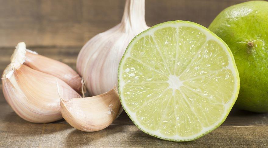 Limon ve sarımsağın mucizevi faydaları