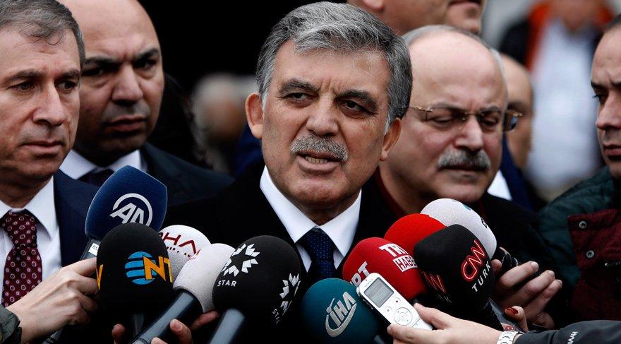Abdullah Gül'den eleştirilere yanıt geldi