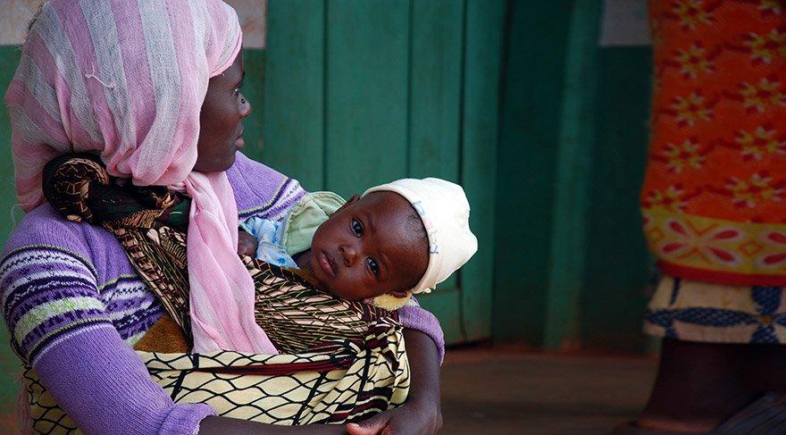 AIDS'li hastaların büyük çoğunluğu Afrika'da yaşıyor.