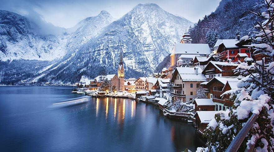 Masalları anımsatan Alpler