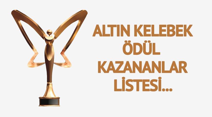 Altın Kelebek Ödülleri kazananlar listesi… 44. Altın Kelebek ödüllerini kazananlar belli oldu!
