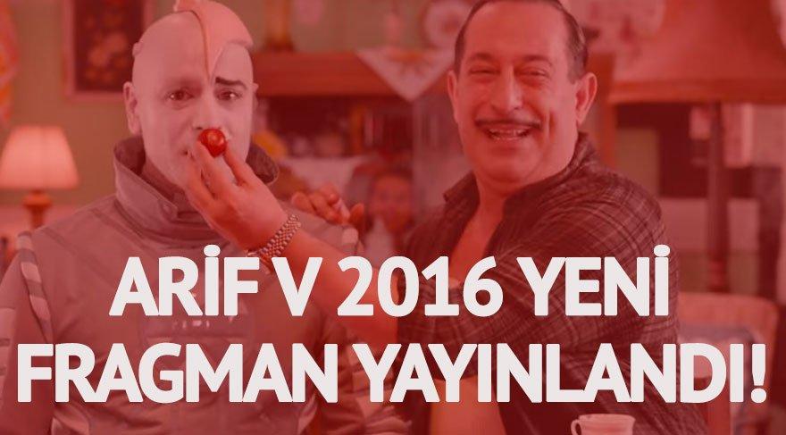 Arif V 2016 fragmanı yayınlandı! Ne zaman vizyona girecek? İşte Cem Yılmaz'ın yeni filmi