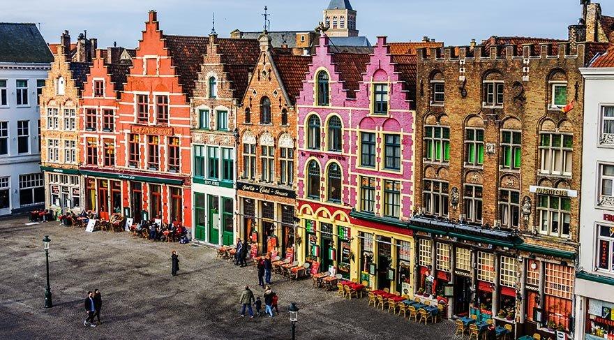 Tarihi mimarisiyle dikkat çeken Belçika