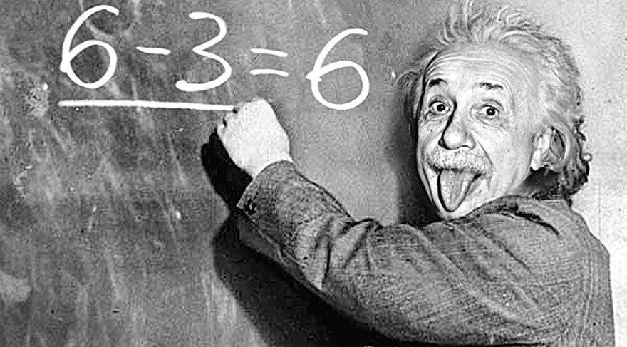 Albert Einstein 160 IQ