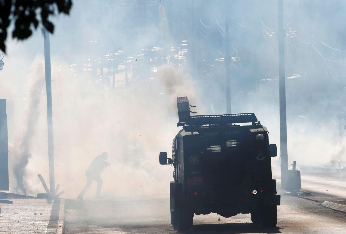 İsrail kuvvetleri göstericilere sert müdahale etti.