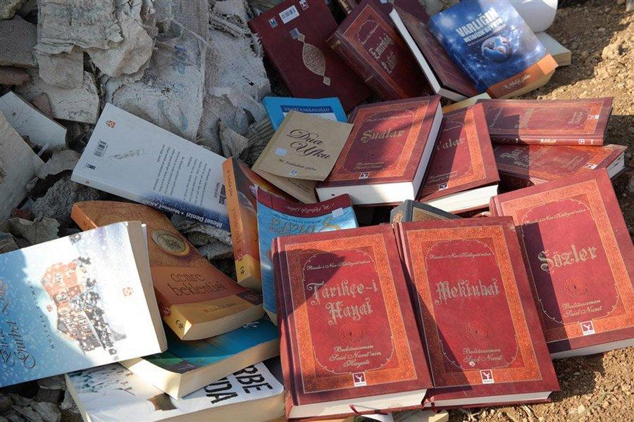 Risale-i Nur'lar 15 Temmuz sonrası çöplere atılmaya başlanmıştı.