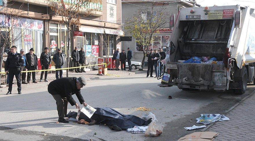 Çöp dökerken kamyonun altında kalarak öldü