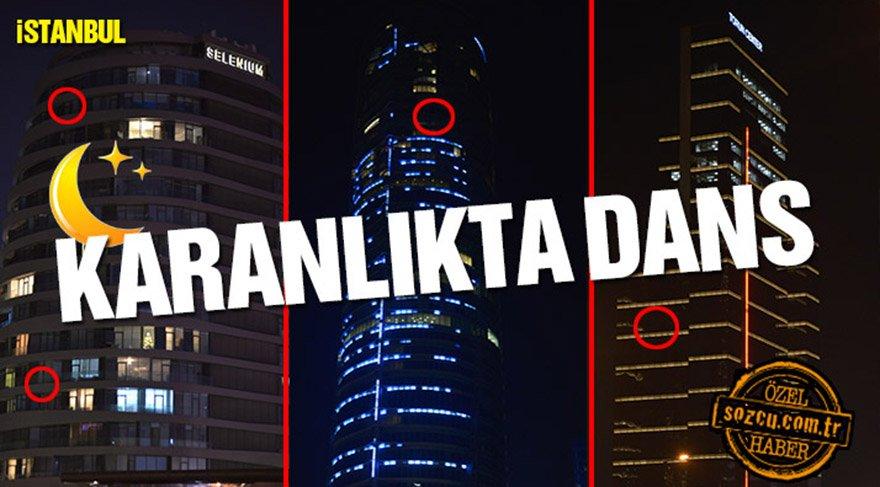İstanbul rezidanslarında son durum: Karanlıkta dans