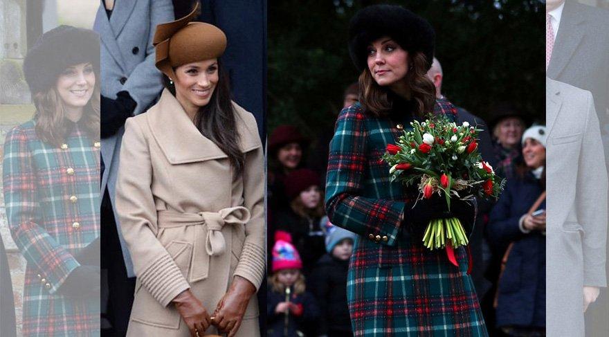 Noel kutlamasına katılan Kate Middleton, Meghan Markle'a parasıyla fark attı!