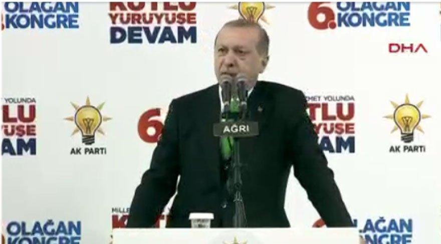 Erdoğan: Boyun eğmedik diye yargılamaya çalışıyorlar