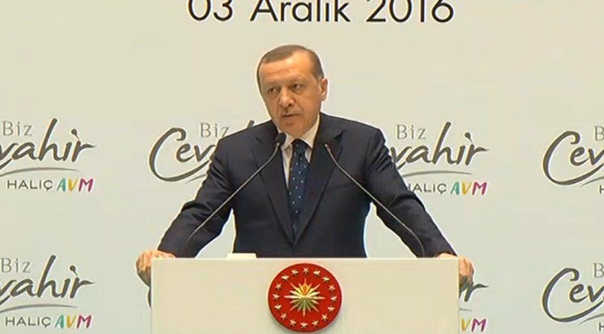 Erdoğan: 'Sen kimsin ki bunu sana ispatlayacağız'