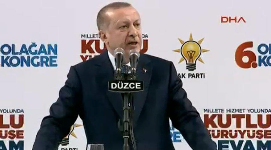 Erdoğan: 'Hayır' kampanyası içerisinde beraber yürüdüklerimizin olması bizi üzdü'