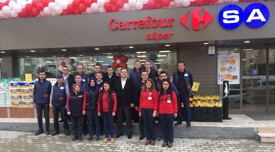 CarrefourSA yeni marketlerini açtı