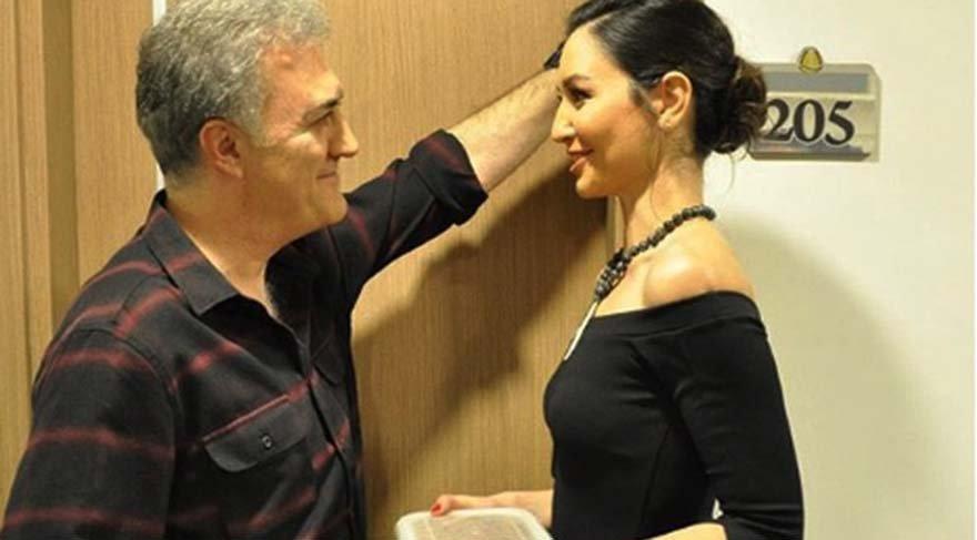 Gülin İyigün dizinin yeni bölüm çekimlerinde Pınar Altuğ'dan yastıkla dayak yedi