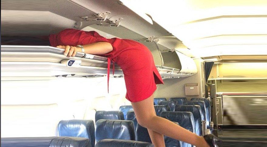 Hosteslerden ilginç trend! Herkes uçağı terk ettikten sonra…