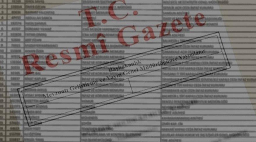 Kimler yeni gelen KHK ile ihraç edildi? İşte isim isim ihraç ve işe geri iade edilenler listesi...