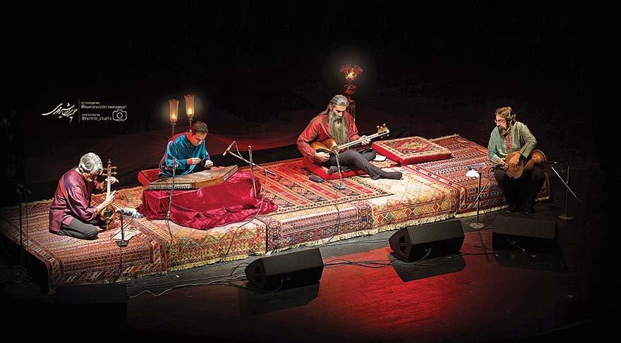 İran müziğinin ustaları sahnede