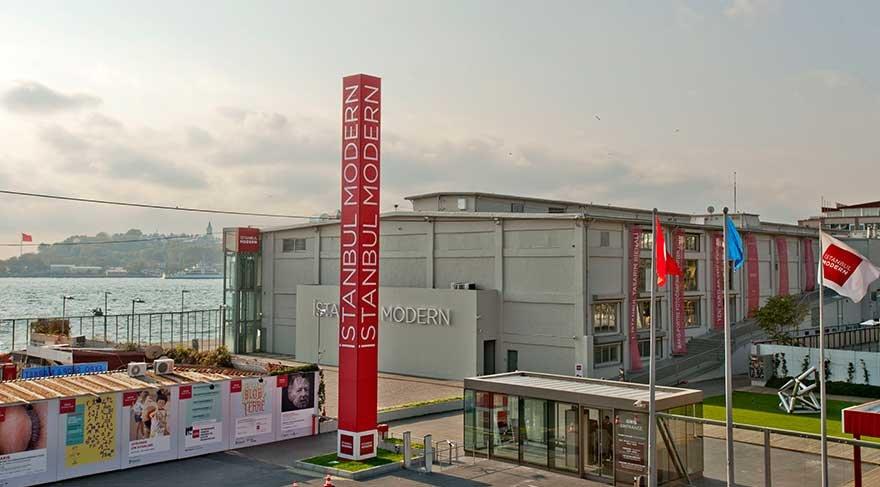 İstanbul Modern, 2017'de 580 bin ziyaretçiyi ağırladı