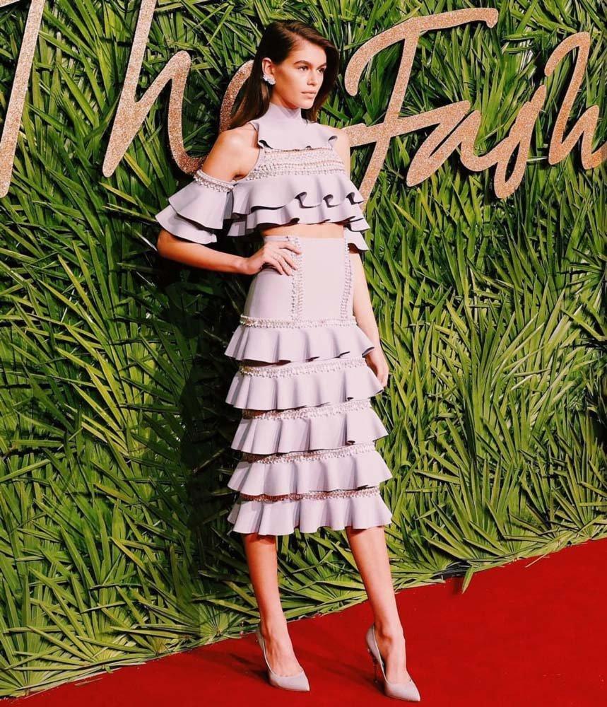 Kaia Gerber, 'En İyi Model' ödülünü Adwoa Aboah'ya kaptırdı...