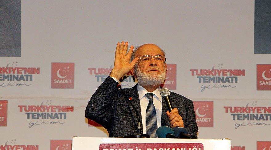 SP Lideri Karamollaoğlu'ndan seçim barajı çıkışı! 'Kampanya başlatacağız'
