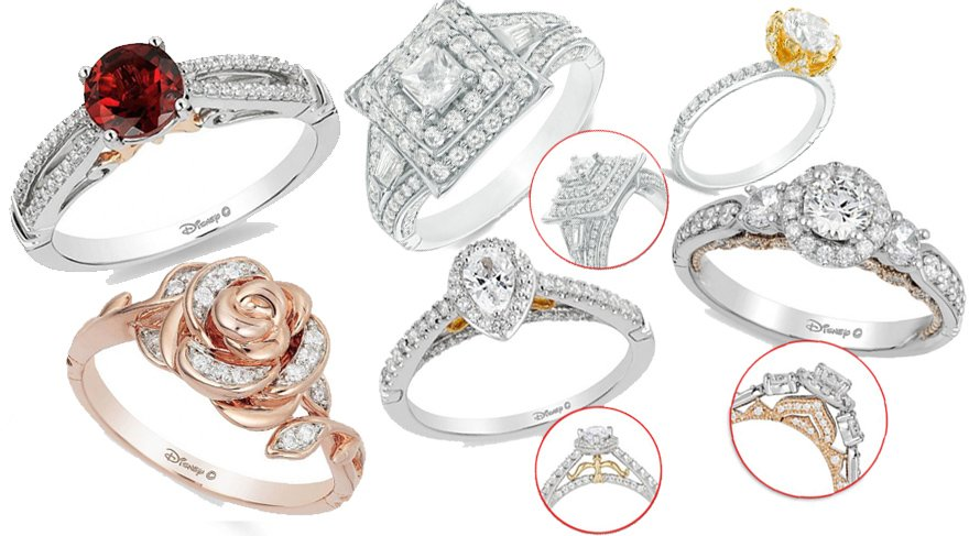 Disney prenseslerinden esinlenerek hazırlanan mücevher koleksiyonu