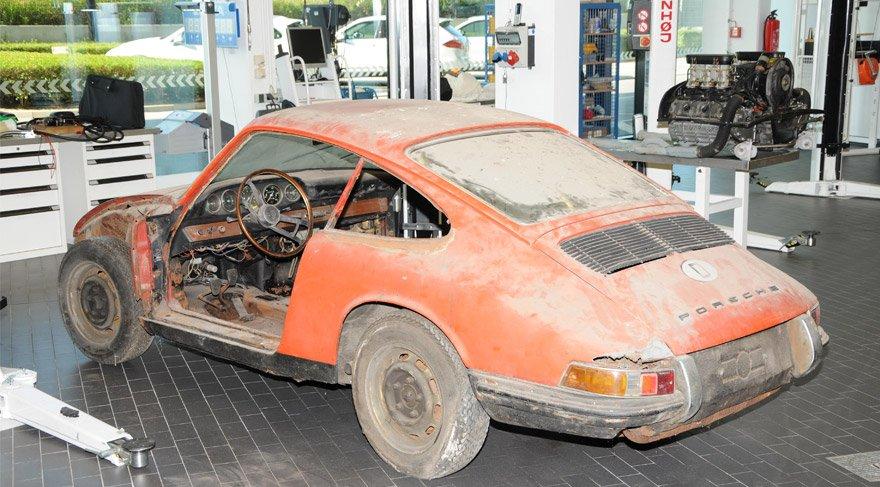 Porsche müzesindeki en eski 911 yenilendi
