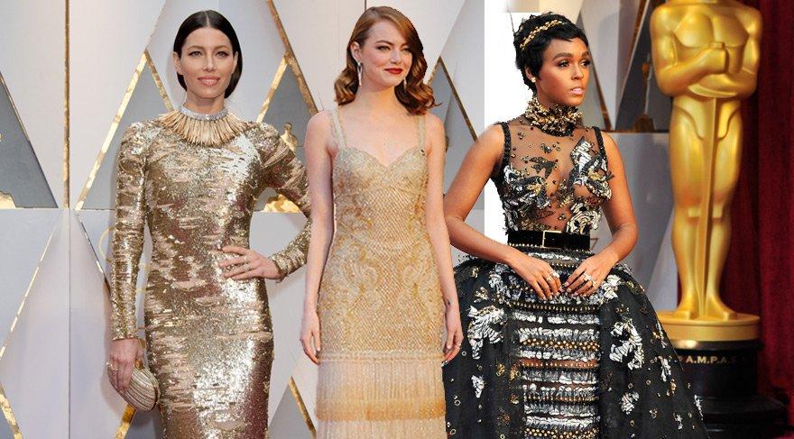 Google, Oscar 2017'nin en aranan elbiselerini paylaştı