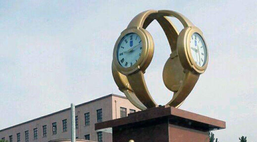 Gökçek'in 'Kol Saati' anıtı Meclis'in gündeminde
