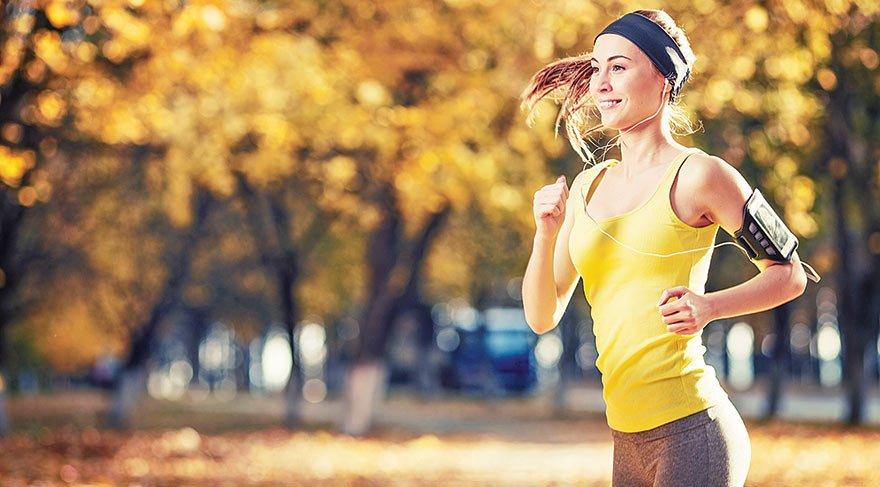 Koşarken sağlığınız bozulmasın