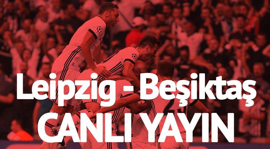 TİVİBU SPOR CANLI İZLE: Leipzig Beşiktaş maçı canlı izle!