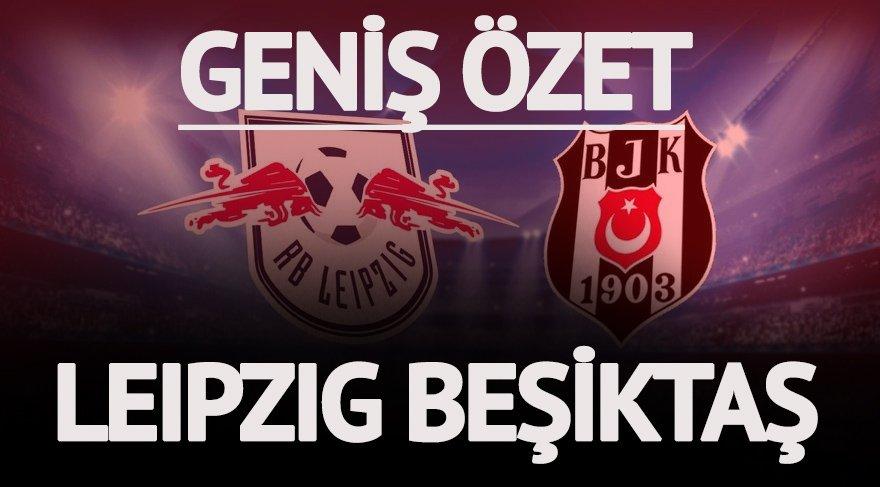 Leipzig Beşiktaş maç özeti: Avrupa Kartalı rekorla döndü… İşte Beşiktaş'ın Şampiyonlar Ligi gecesi özeti!