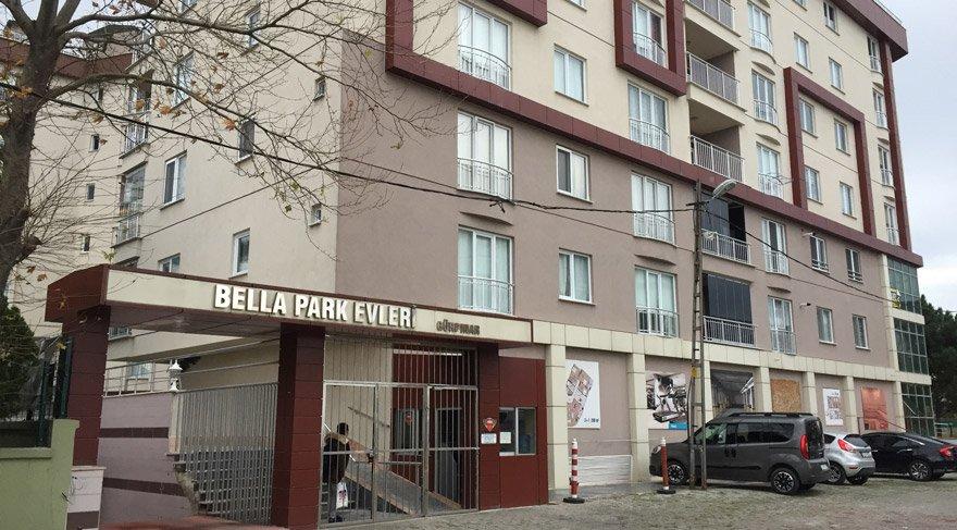 Zarrab'ın birçok daireye sahip olduğu Bella Park'ta işler durgun